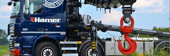 100 tonner voor Hamer