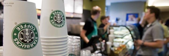 Goede koffie beschikbaar onderweg