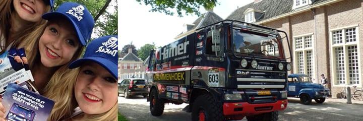 Dakar Truck Deelname Defilé
