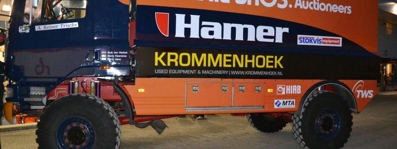 Dakar 2015 - race truck