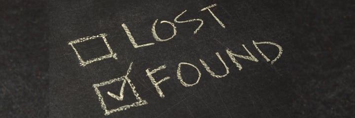 Kwijt en weer gevonden