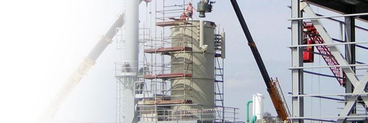 Thermische olie installatie