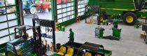 Overzicht werkplaats Kraakman Perfors - John Deere