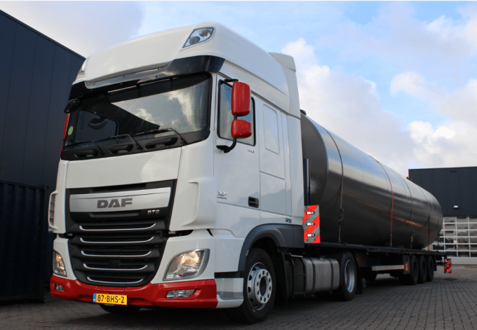 tanktransport-combinatie