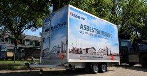 Asbest douchewagen Hamer