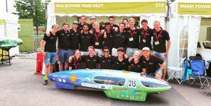 Hamer sponsor van Eco-Runner team Delft