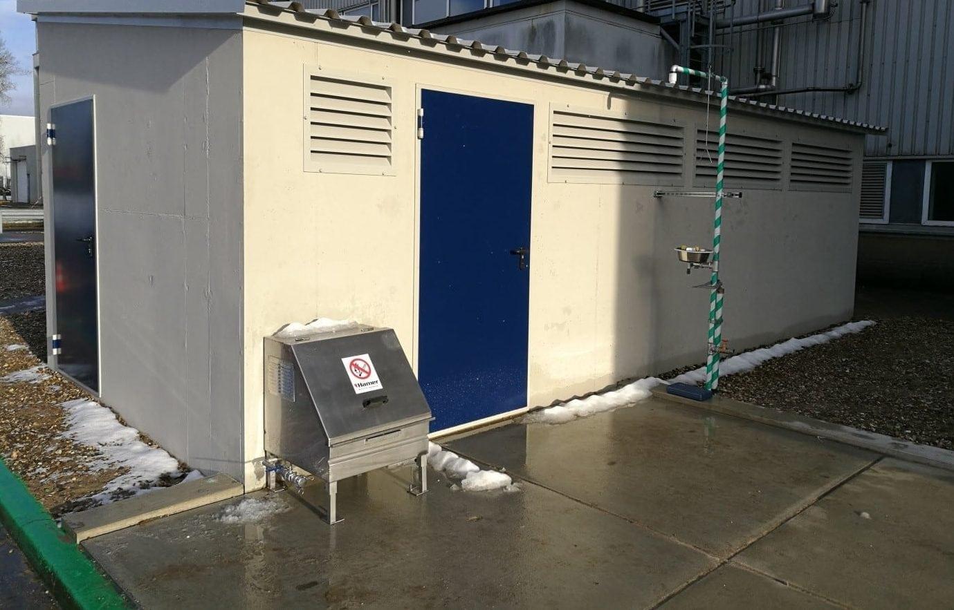 waterstofperoxide installatie vervangen