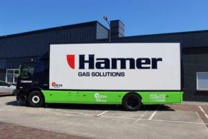 Hamer Hybride Volvo Truck