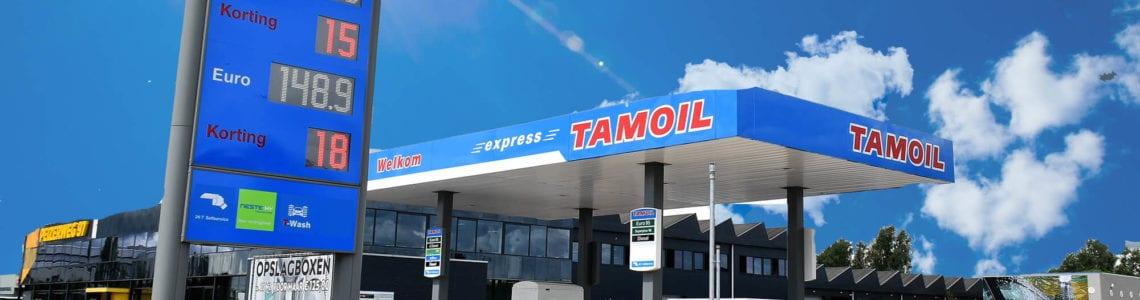 Oplevering tankstation Tamoil Express Groningen