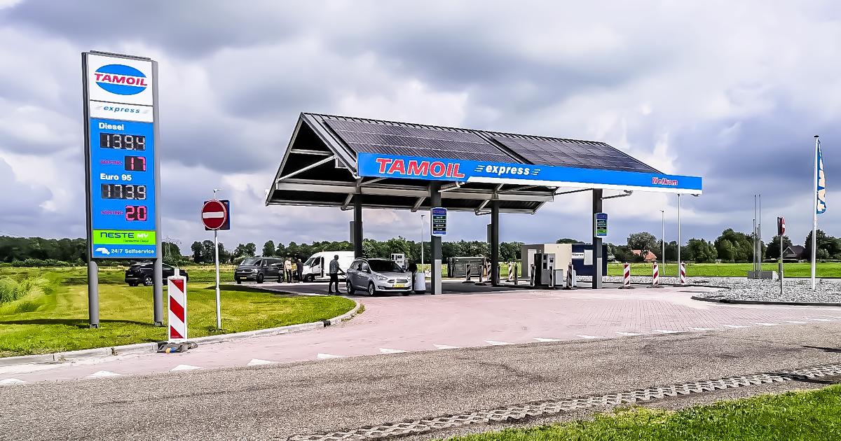 Uitbreiding Tamoil Tankstation
